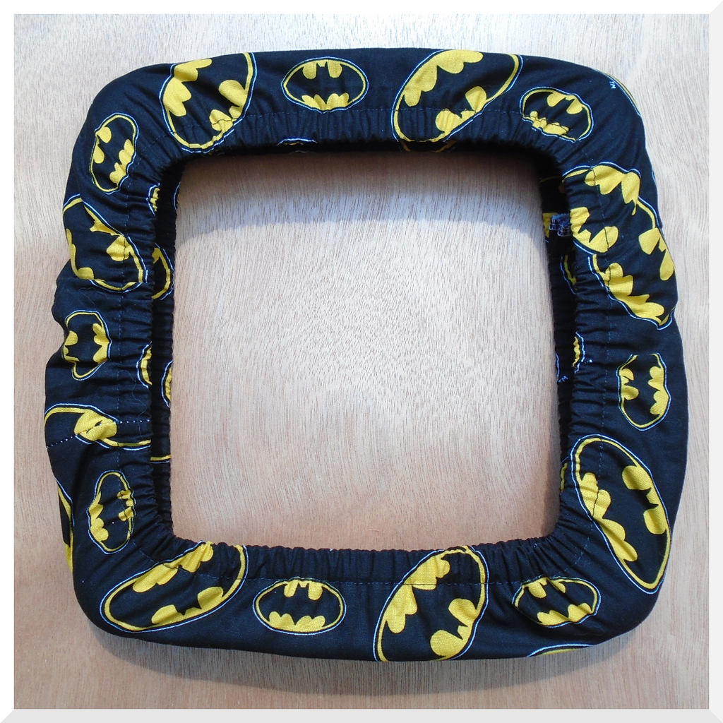PVC Lap/Table Frame Grime Guard made from Batman Fabric – Maggie\'s ...
