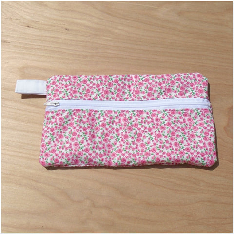 Accessory Bag - Pink Roses