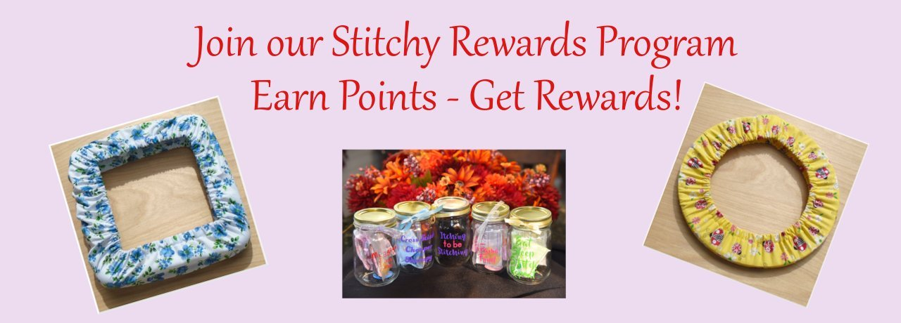 Earn Stitchy Rewards