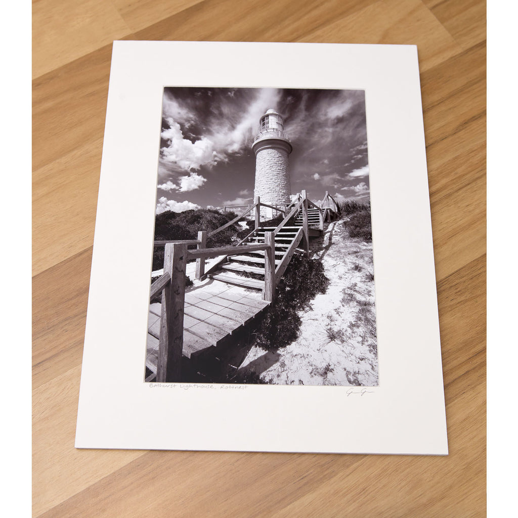 "8 X 12"" Print - Bathurst Lighthouse, Rottnest"