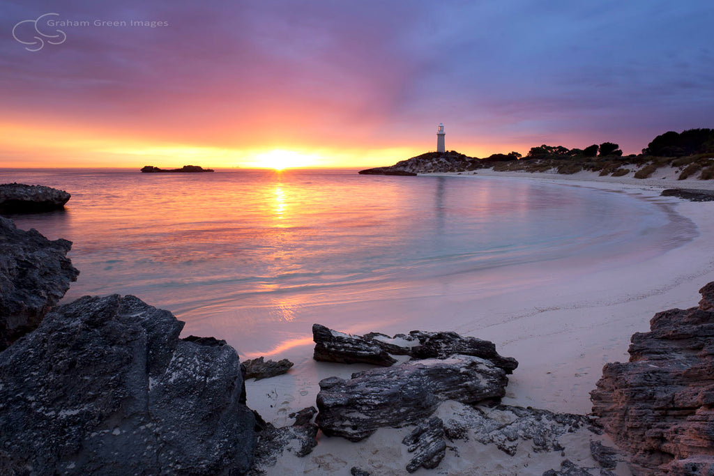 Pinky Beach Sunrise, Rottnest - RT5004