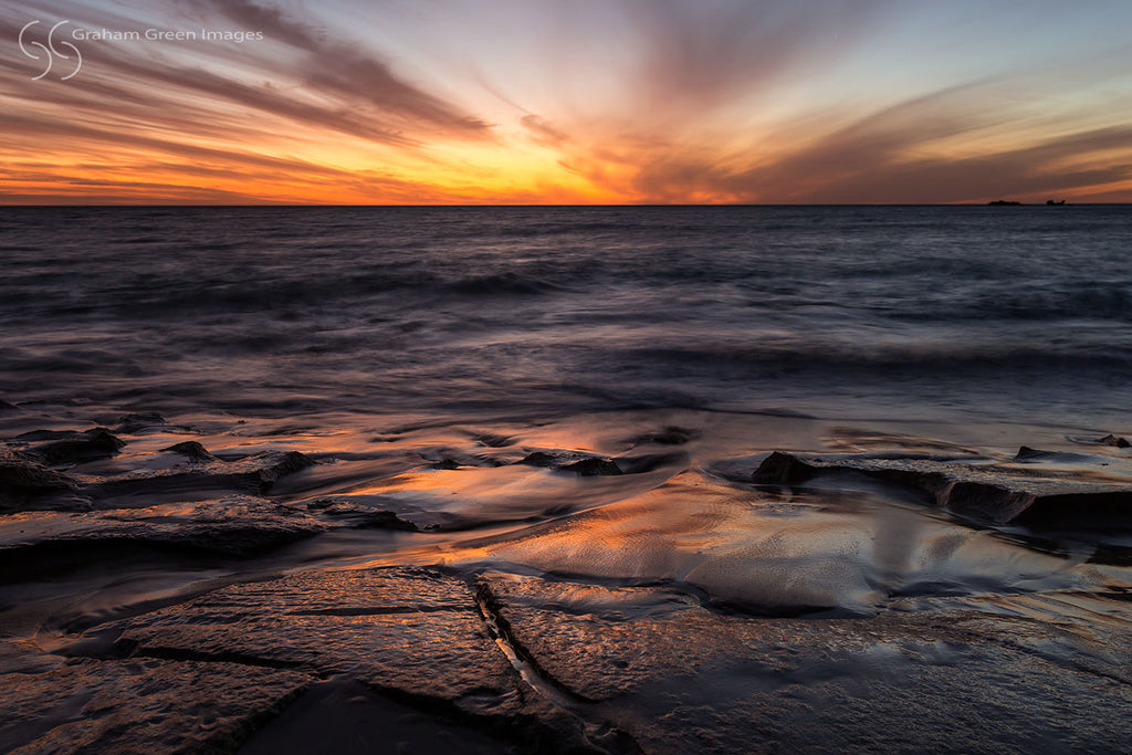 Burns Beach Sunset - BB4562