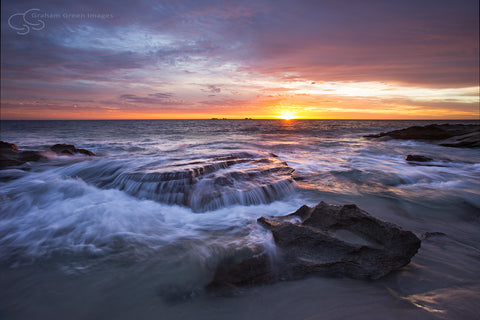 Burns Beach Sunset - BB3012