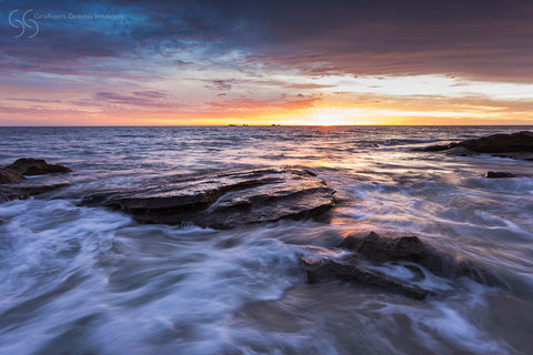 Burns Beach Sunset - BB3014