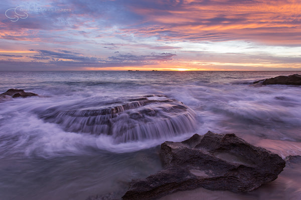 Burns Beach Sunset - BB3013