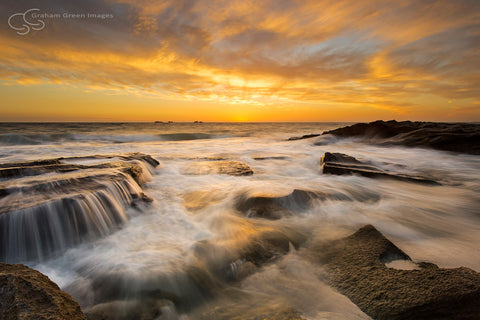 Burns Beach Sunset - BB3011