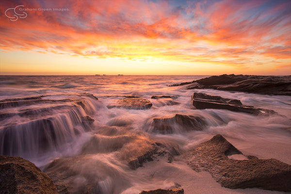 Burns Beach Sunset - BB3010