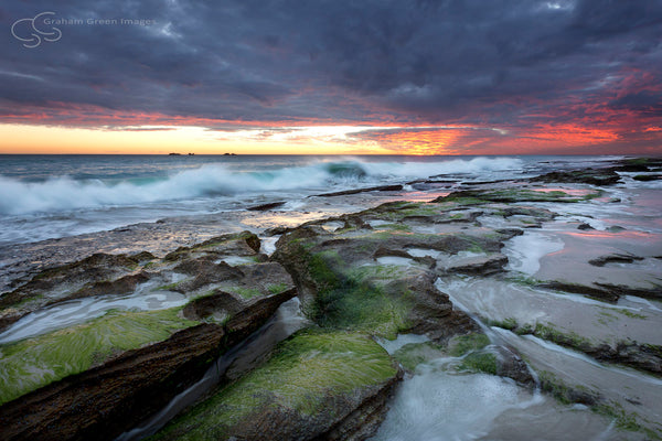 Burns Beach Sunset - BB3006