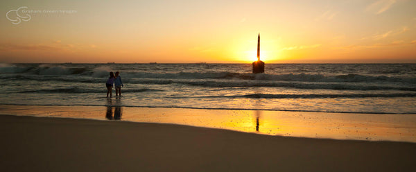 Sunset, Cottesloe Beach - CO6003