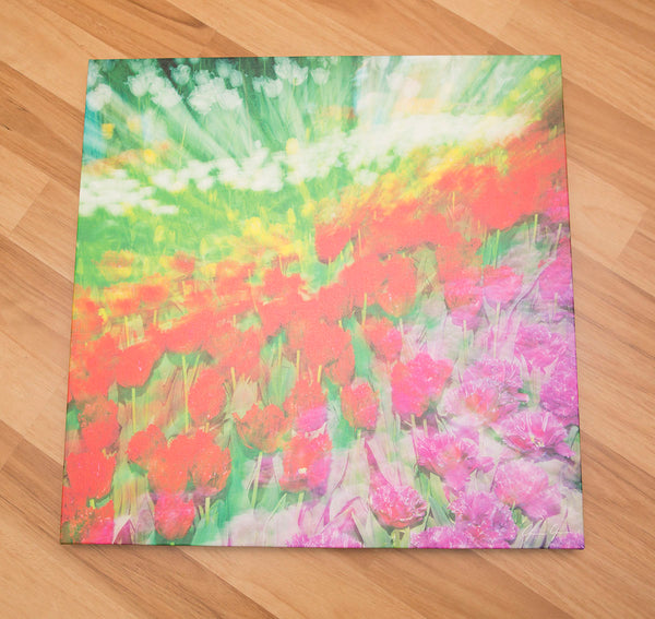 "24 x 24"" Canvas - Floral Burst"