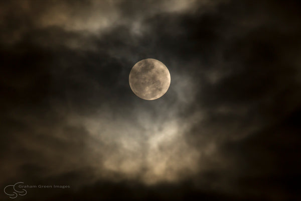 Moon and Clouds - MC2293