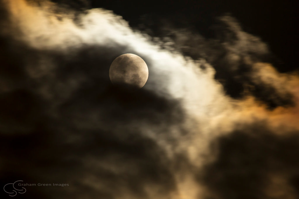 Moon and Clouds - MC2262