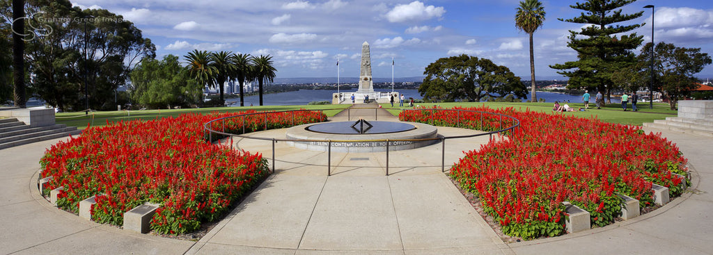 War Memorial, Kings Park - KP3009