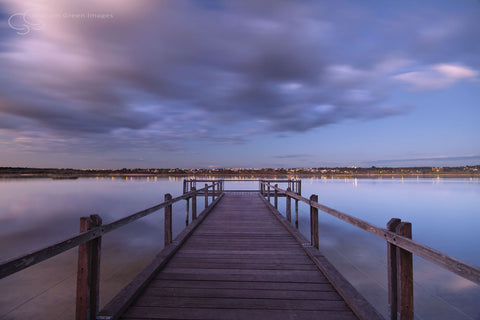 Jetty, Lake Joondalup - JN4105