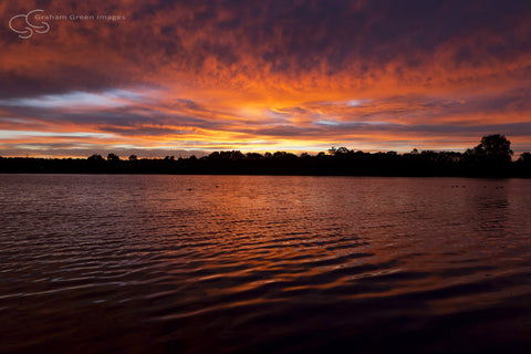 Sunrise, Lake Joondalup - JN4101