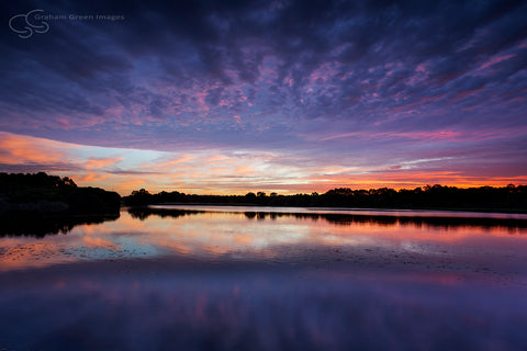 Sunrise, Lake Joondalup - JN4108