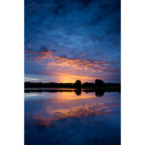 Sunrise, Lake Joondalup - JN4109