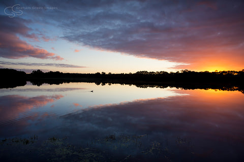 Sunrise, Lake Joondalup - JN4103