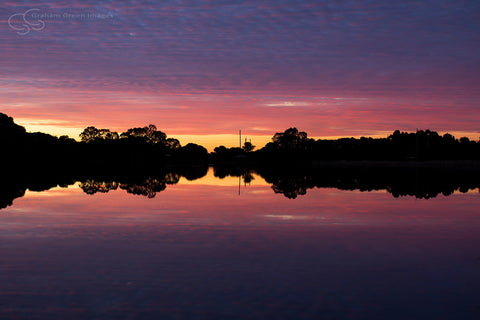 Sunset, Lake Joondalup - JN4111