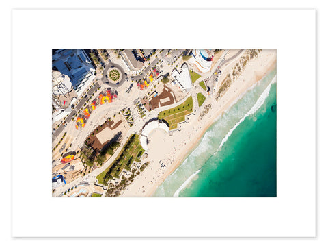 Scarborough Beach Mounted Print - SBBM5102