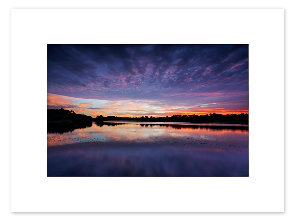 Lake Joondalup Sunrise Mounted Print - JNM4108