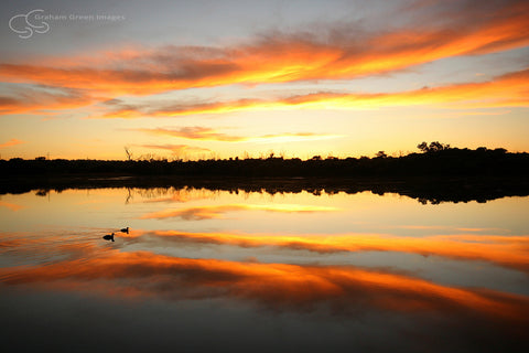 Sunrise, Lake Joondalup - JN4106