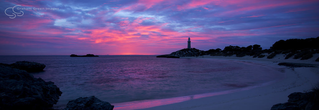 Pinky Beach Sunrise, Rottnest - RT5012