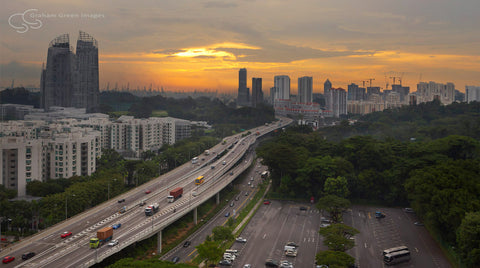 Singapore Sunset - SP9009