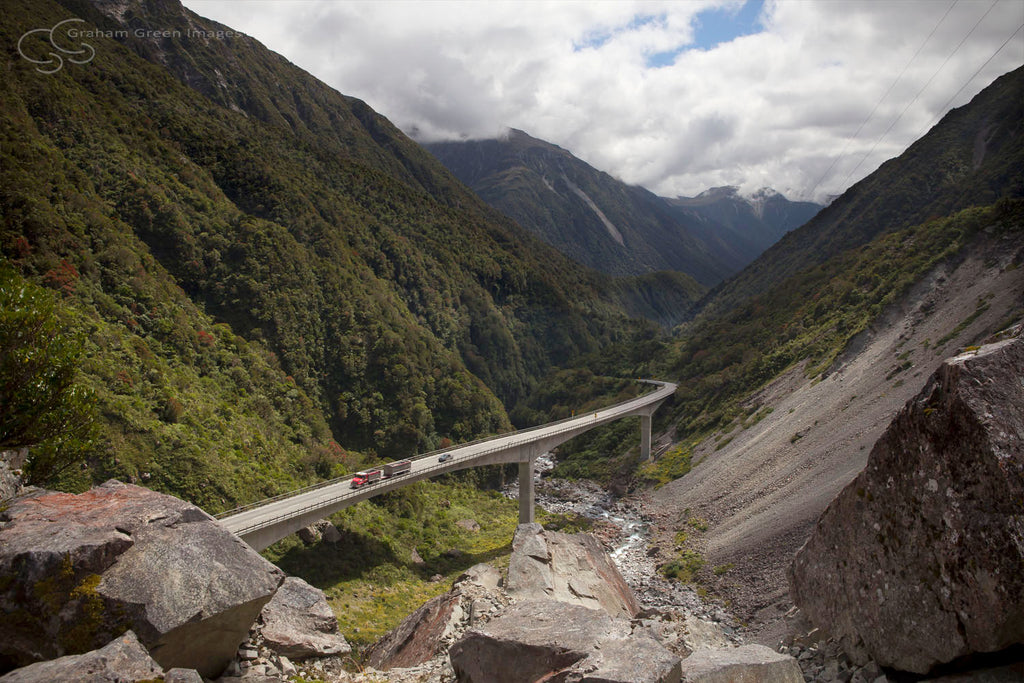 Viaduct, Arthurs Pass, NZ - NZ4010