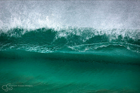 Wave, Shelley Beach - GS2003