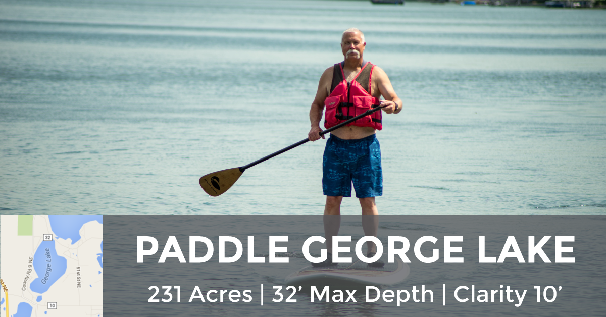 George Lake - 231 Acres, 32' Max Depth, 10' Clarity