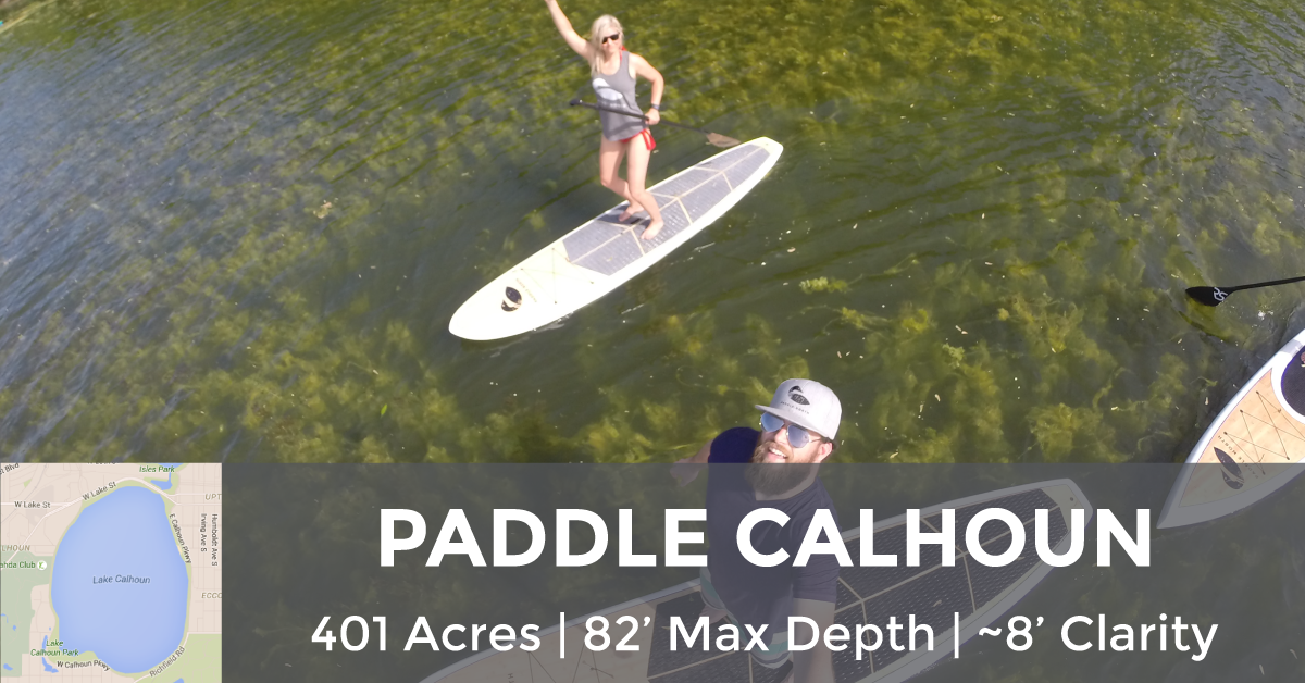Lake Calhoun - 401 Acres, 82' Max Depth, ~8' Clarity