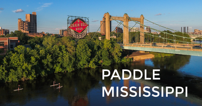 Paddle Boarding the Mississippi