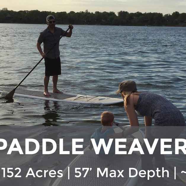 Weaver Lake - 152 Acres, 57' Max Depth, ~3' Clarity