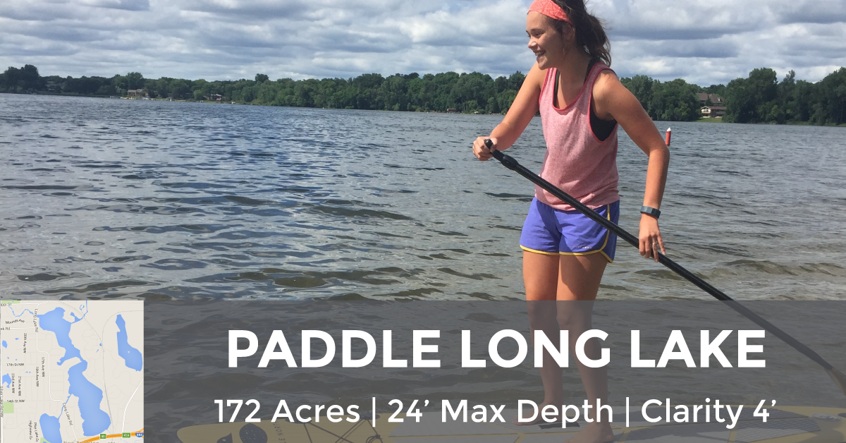 Long Lake - 172 Acres, 24' Max Depth, 4' Clarity