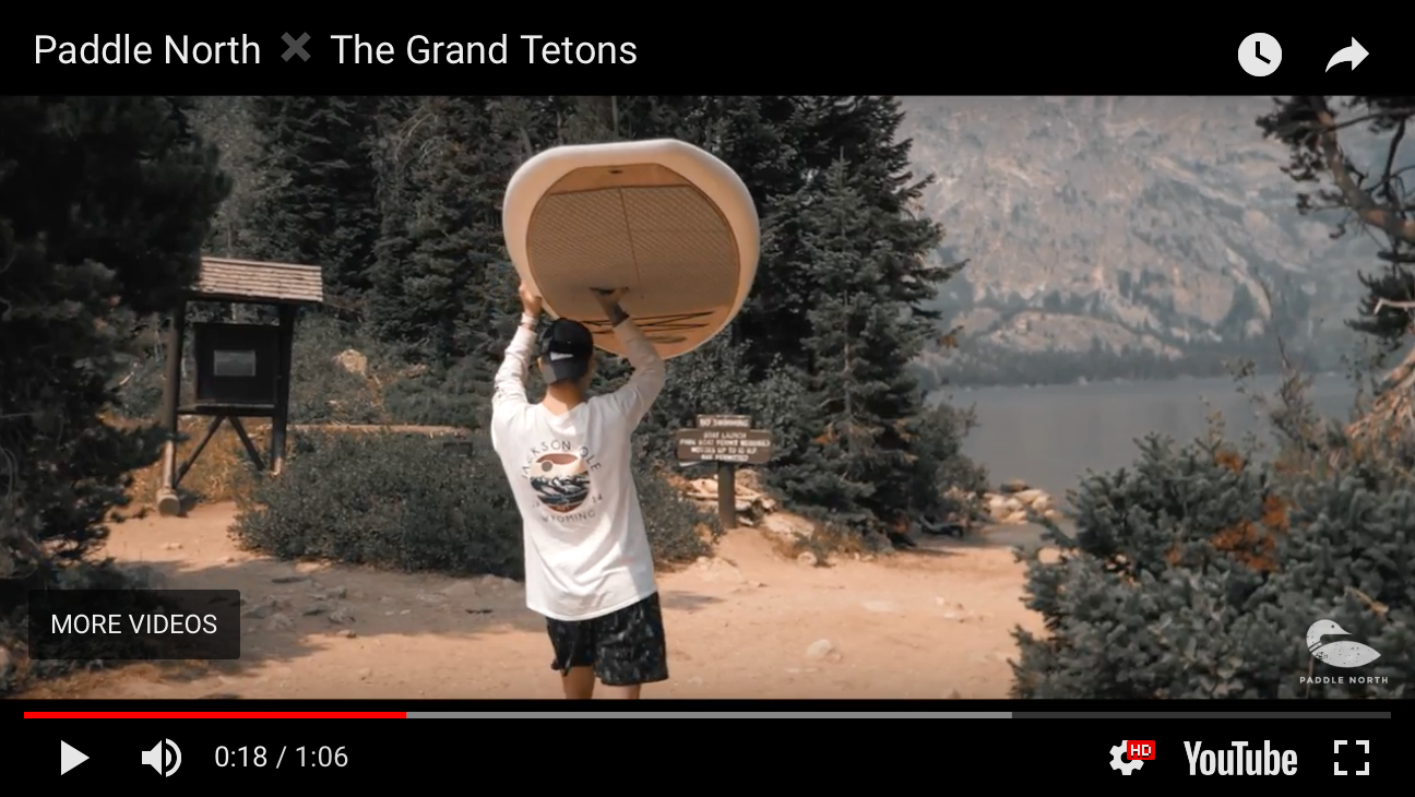 Paddle North x Grand Tetons