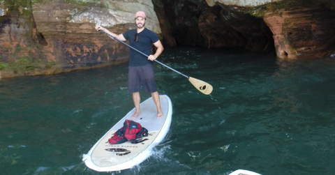 Apostle Islands - Paddle Boarding