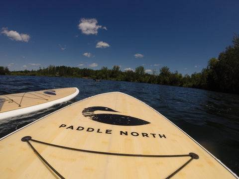 Paddle North Loon
