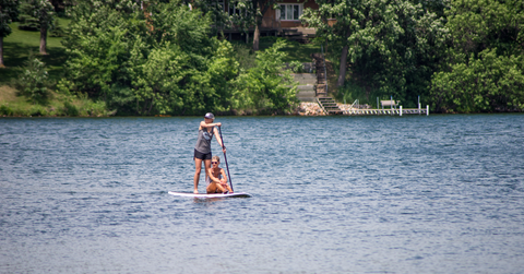 Paddle North - SUP on Lake George