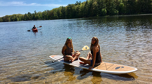 Hamlin Lake Paddle Boarding