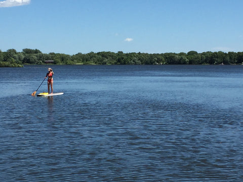 Peltier Lake Paddle Boarding