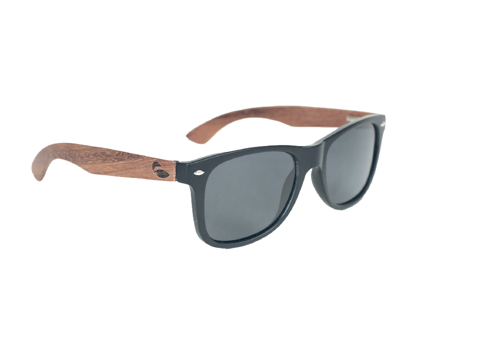 Black Wood Sunnies