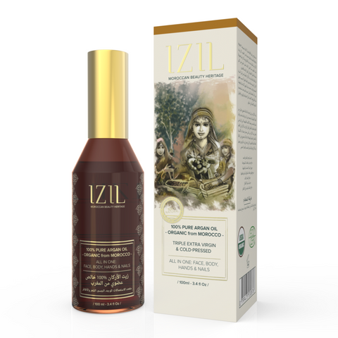 Izil Beauty - 100% Pure Argan Oil - organic argan oil