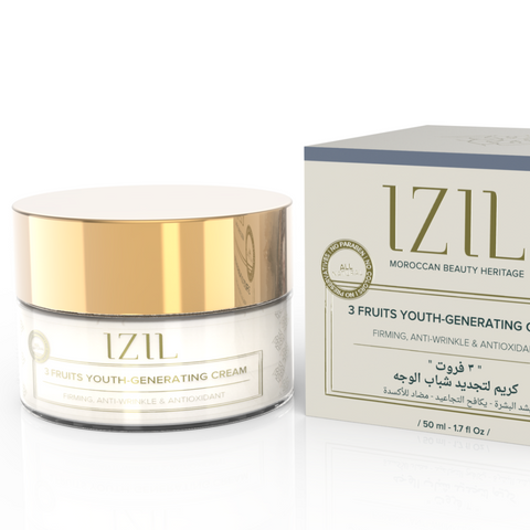 Izil Beauty - 3 Fruits Youth Generating Cream