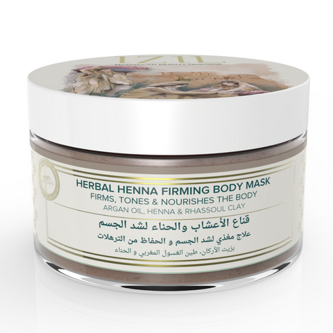 Izil Beauty - Organic Herbal Henna Firming Body Mask