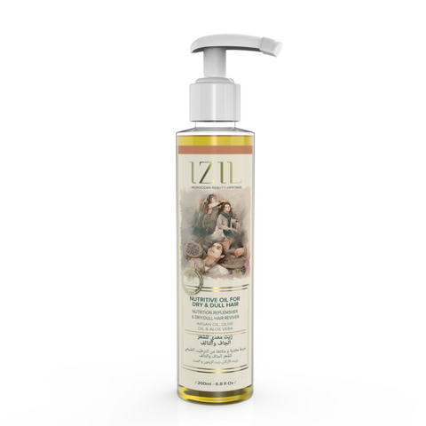 Izil Beauty - Organic Nutritive Oil for Dry & Dull Hair