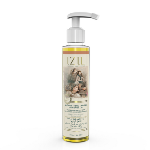 Izil Beauty - Organic Ultime Strengthening Hair-Loss Oil