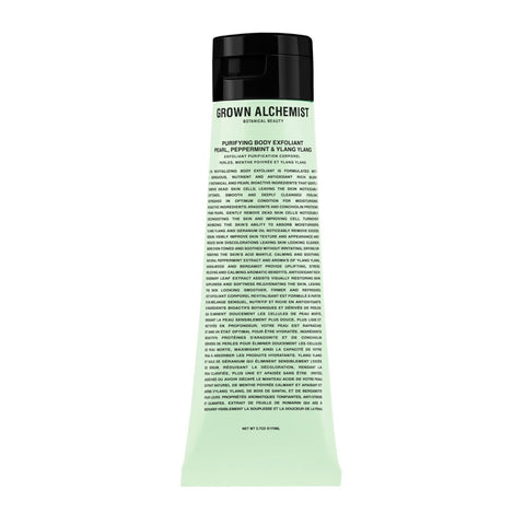 Grown Alchemist - Organic Purifying Body Exfoliant: Pearl, Peppermint & Ylang Ylang