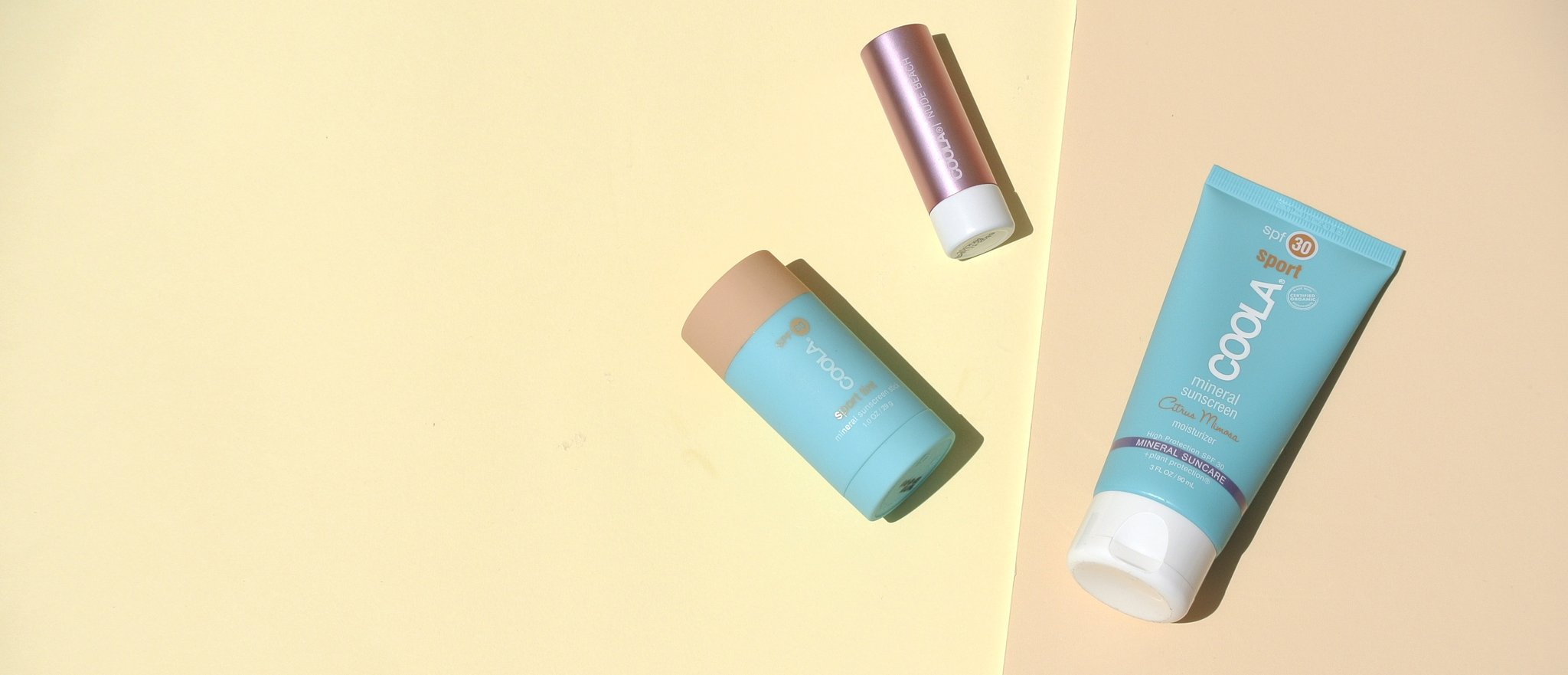 COOLA mineral sunscreen available at Green Chic