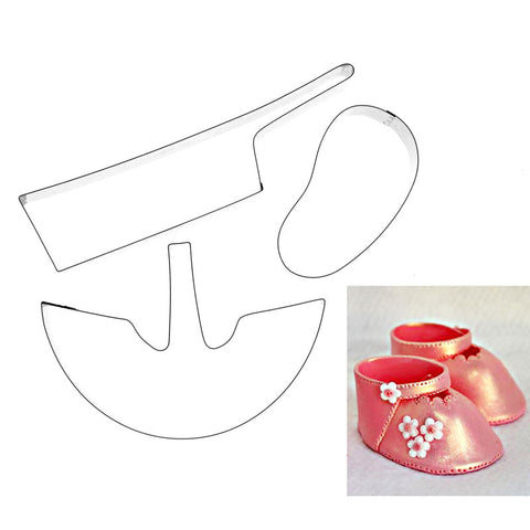 3D BABY SHOE CUTTER – 3 SET